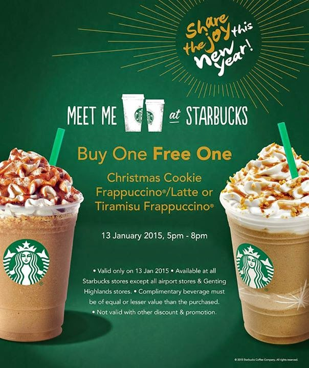 Starbucks R&R Tapah Southbound outlet opening buy 1 Free 1 and Starbucks Honey Waffle giveaway. December 2, Views. Starbucks now brewing daily at R&R Tapah Southbound! Starbucks 2 Bottled Frappuccino for RM20 & FREE Matcha Bottled Frappuccino / Bottle Pourer Promotion.