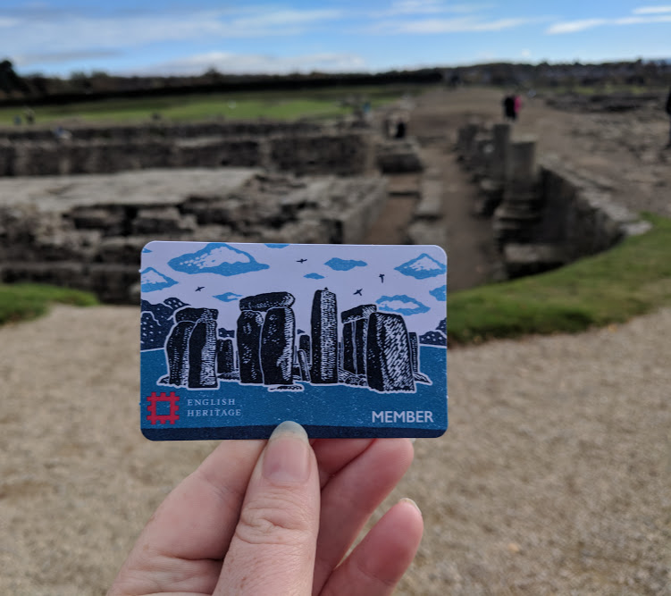 A lovely pub lunch & a trip to Corbridge Roman Town with kids  - temporary English Heritage card
