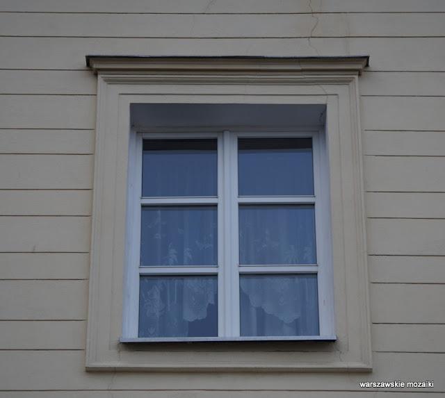 Warszawa Warsaw kamienica Józefa Frageta 1830 Śródmieście architektura okno