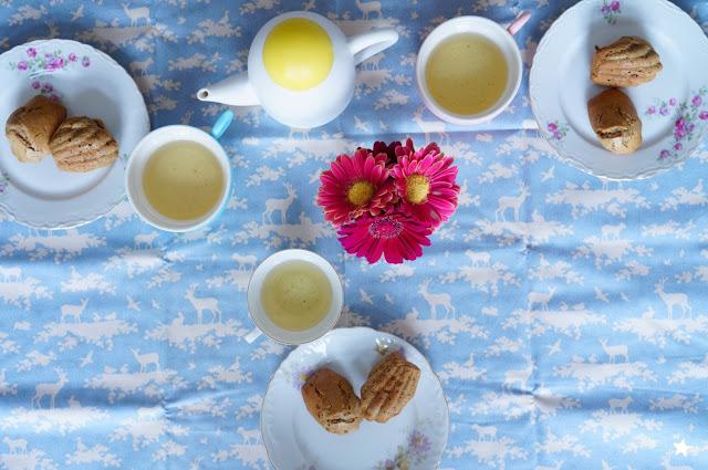 madeleines sans gluten sans lactose arts de la table vaisselle vintage