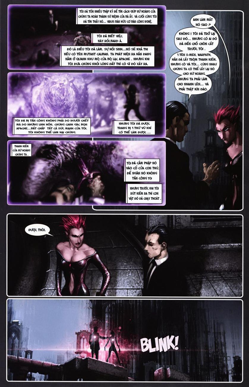 X-Men Necrosha chap 6 trang 16