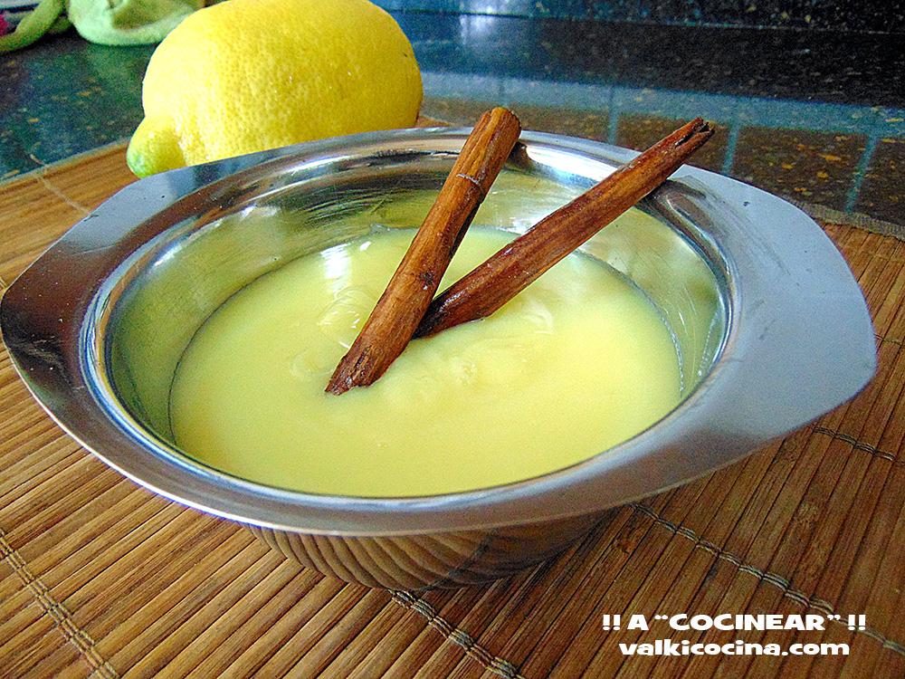 crema sin huevo