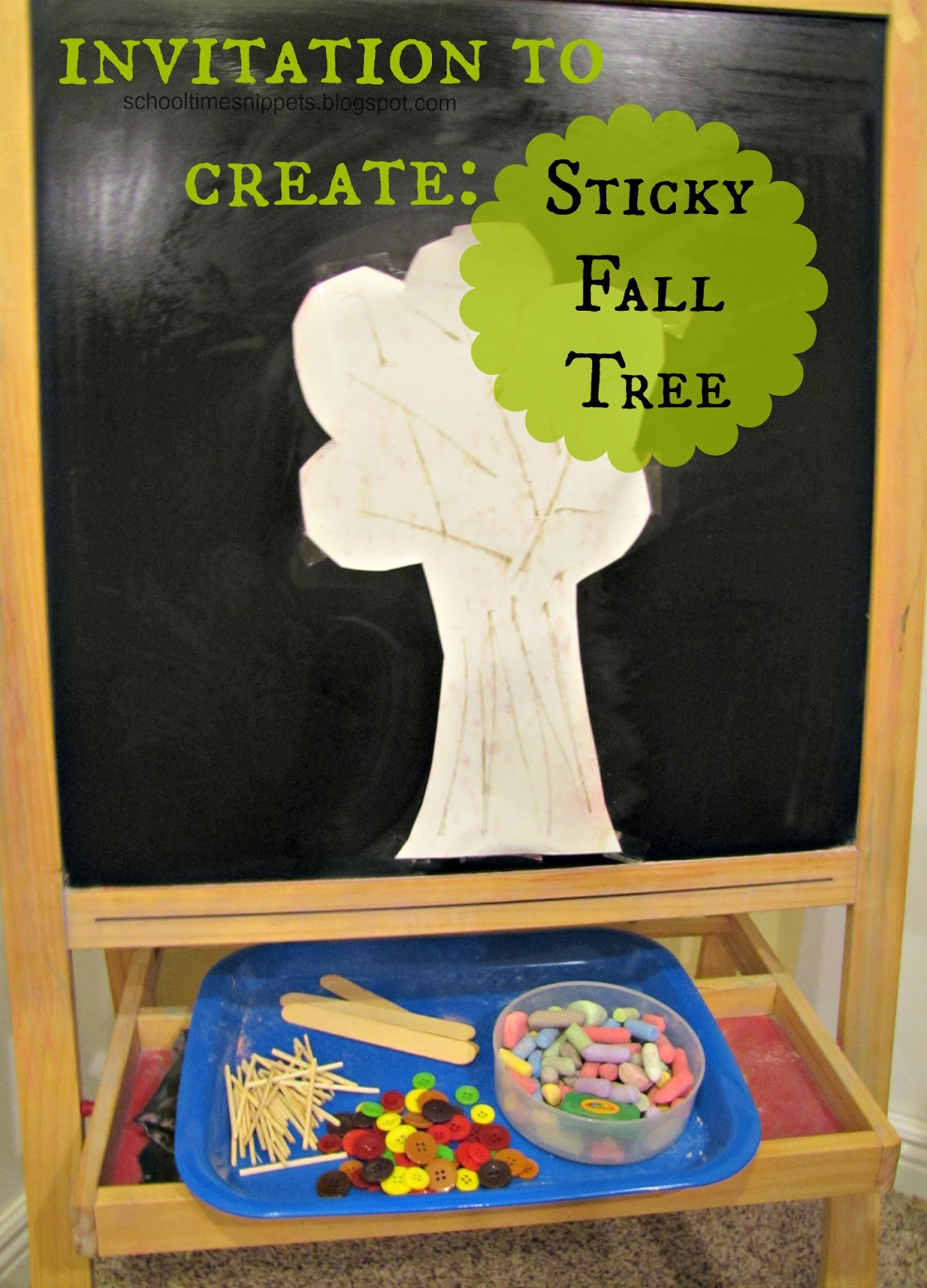 fall tree art