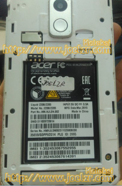 Cara Flash Acer Z200/Z205 100% Tested (Free No Password ...