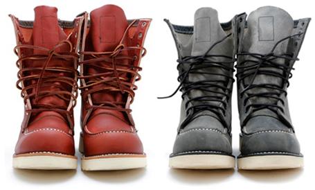 dee1cf367 A tecnologia dos calçados evoluiu bastante desde o lançamento da primeira  bota da marca e atualmente atendem características específicas para cada  profissão ...