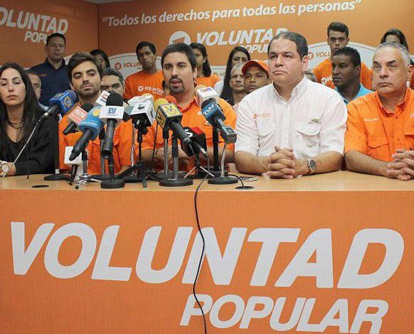 Voluntad Popular no asistió al encuentro