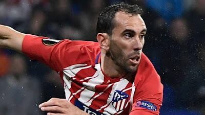 Manchester United in shock move for Uruguayan defender Diego Godin