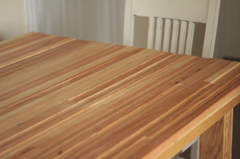 always rooney: Handmade Kitchen Table