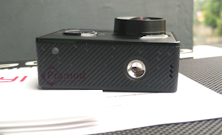 review lubang speaker, baut mount, led xiaomi yi indonesia