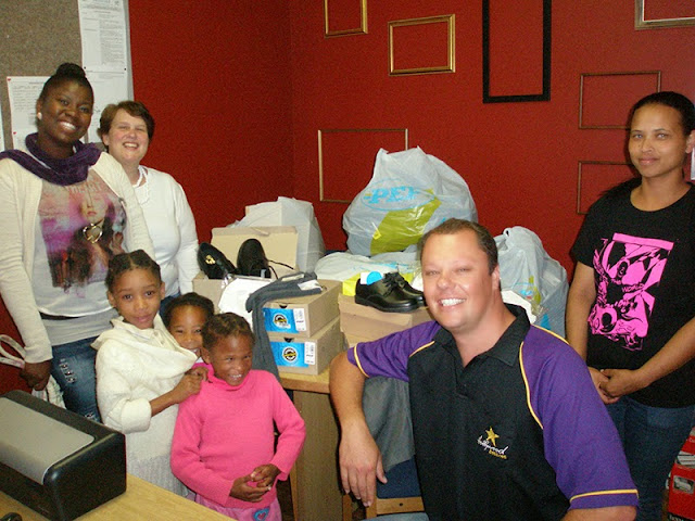 The Hollywoodbets George team donated goods to the Bethesda Child & Youth Care Centre - CSI - Social Responsibility