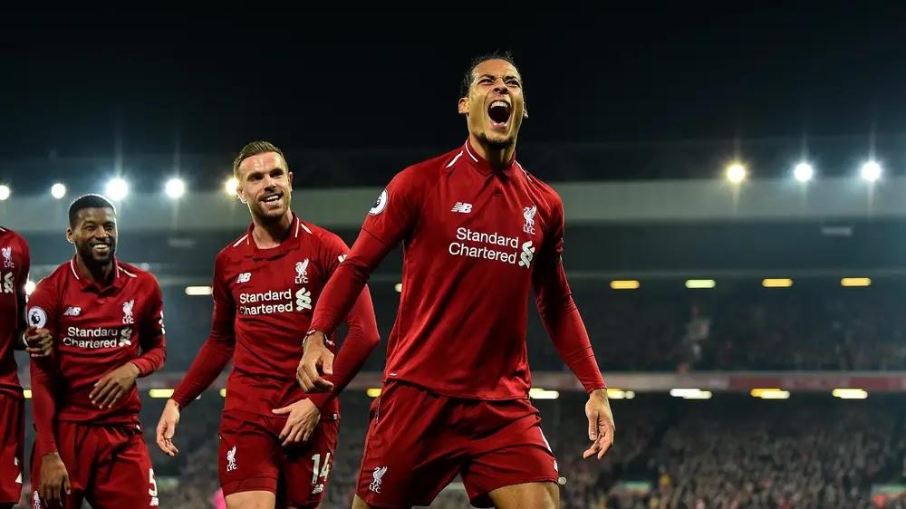Premiere League: Liverpool Mengamuk di Anfield Amankan Puncak Klasemen