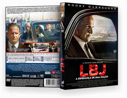 LBJ A Esperança De Uma Nação – AUTORADO – CAPA DVD
