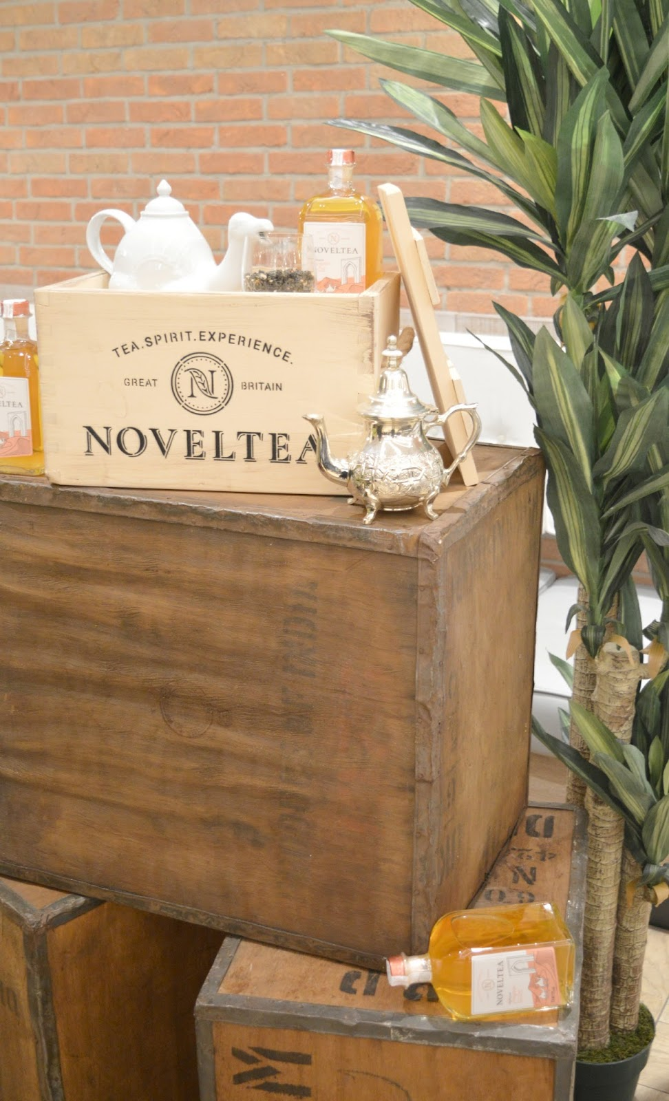 An Alcoholic Tea Party at Fenwick Newcastle with NOVELTEA