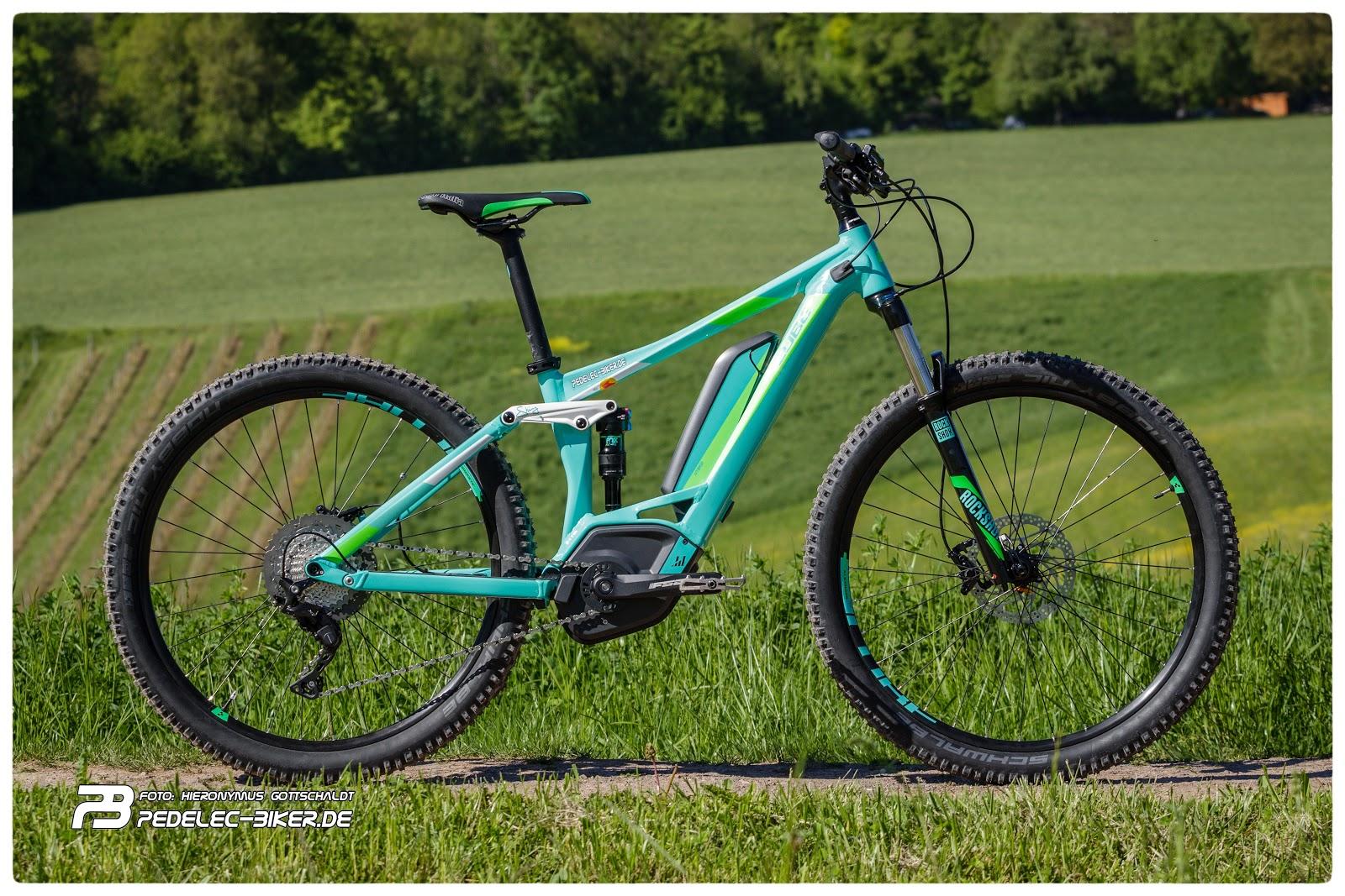 Pedelec Bikerde Erster Eindruck Damen E Mountainbike Cube Sting