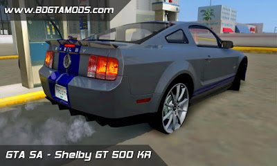 Ford Mustang  Shelby GT 500 KR para GTA San Andreas , GTA SA