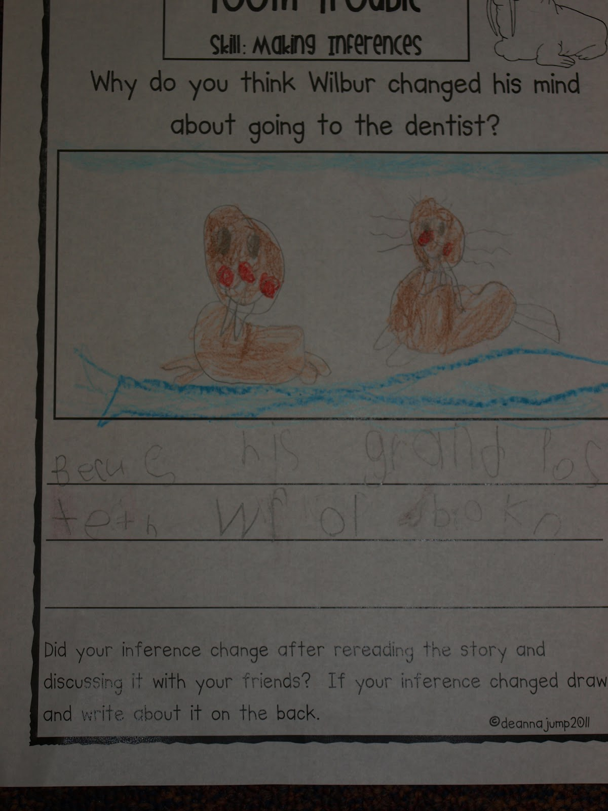 Making Inferences With Tooth Trouble