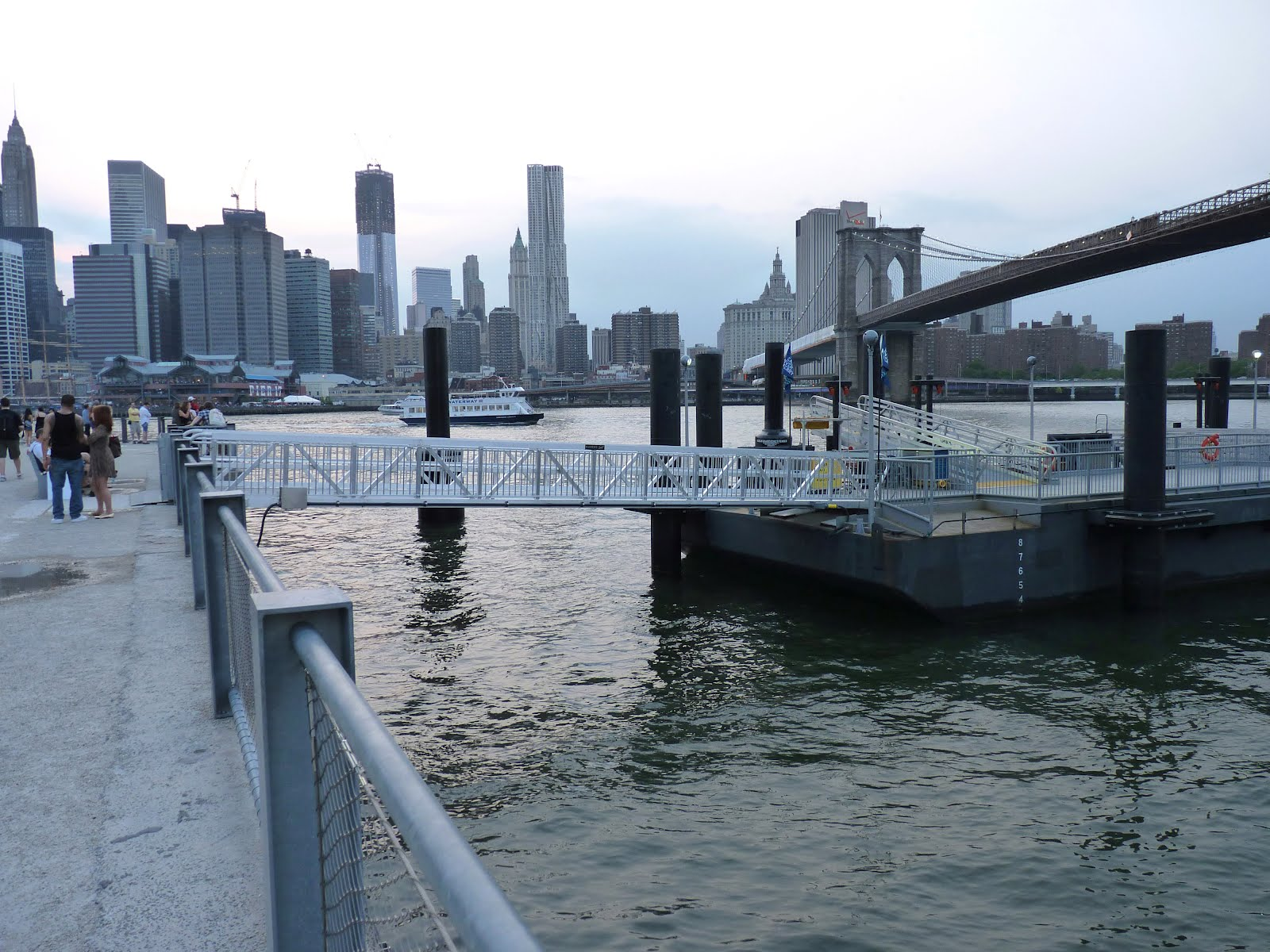 mcbrooklyn: New Pier 1 Dock, Bigger Ferries at Brooklyn