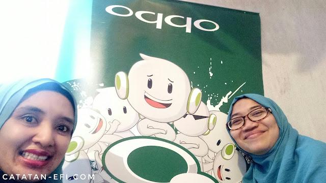 Pengalaman Seru Selfie dengan Oppo F1s