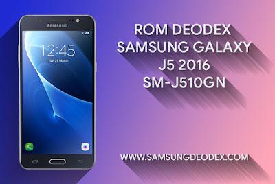 ROM DEODEX SAMSUNG J510GN