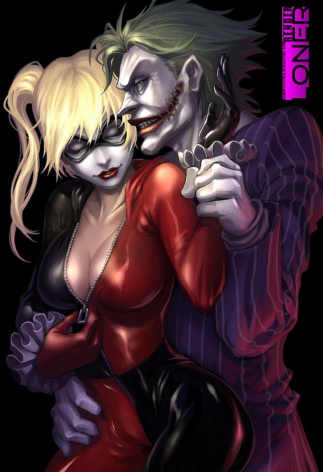 RENDER Harley Quinn X JOKER