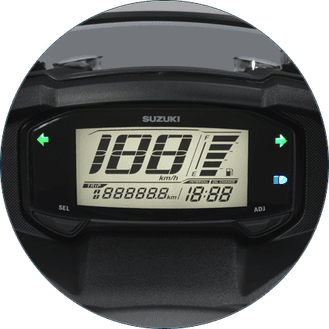 Speedometer Suzuki Burgman Street full digital