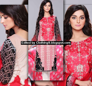 Eid Embroidered Dress Collection 2015