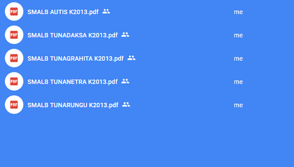 Kisi-Kisi USBN SMALB 2018 (Autis, Tuna Rungu, Netra, Grahita, Daksa)