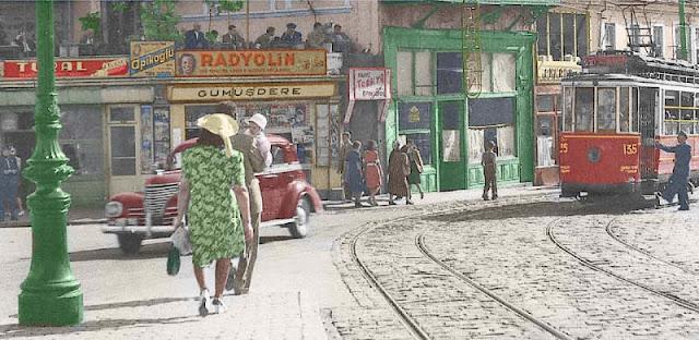 An Istanbul Tram