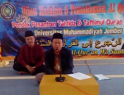 Ketua PDM bersama ketua LP-AIK Unmuh Jember