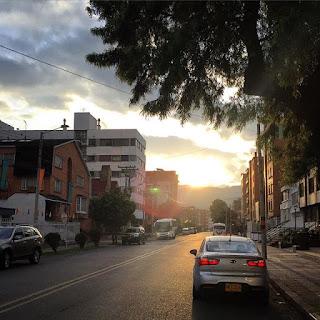 Treino em Bogotá, Colombia - Corrida de Rua