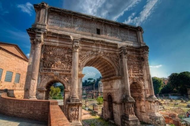 The Roman Forum, Roma, Italia