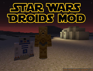 Star Wars Droid mod para Minecraft 1.8