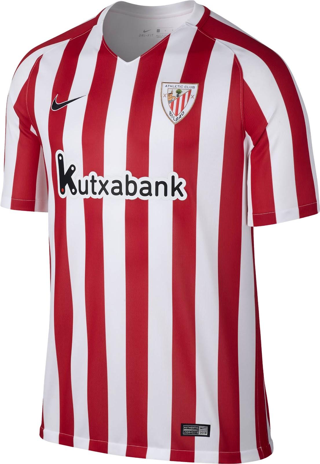 Athletic Bilbao 16-17 Home Kit Released - Footy Headlines