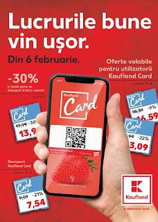 CATALOG KAUFLAND 6 - 12 februarie 2019 promotii kaufland card