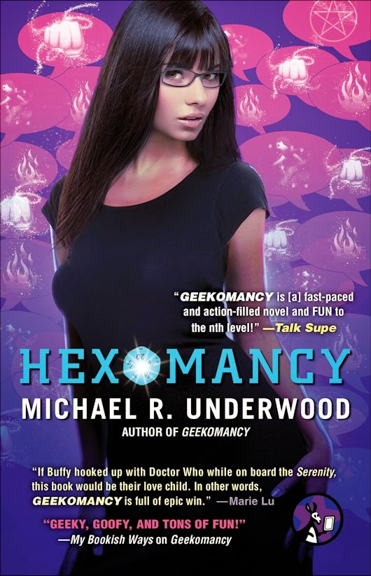 Cover Reveal: HEXOMANCY by Michael R. Underwood