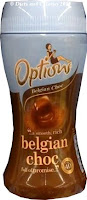 Options hot chocolate drink belgian choc
