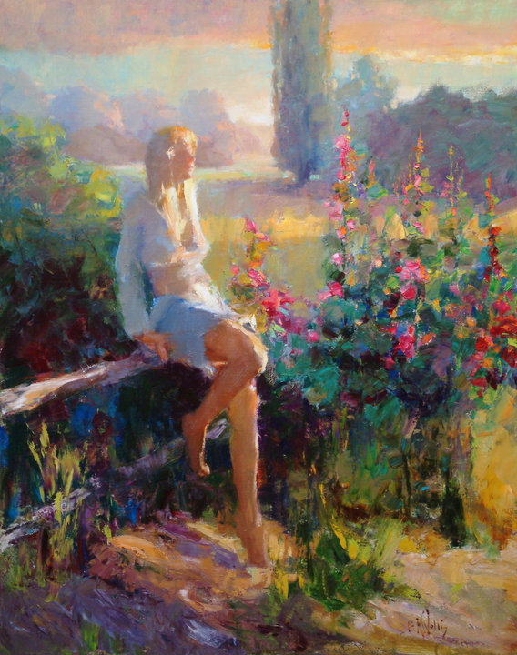 Eric Wallis | Pintor impressionista figurativo