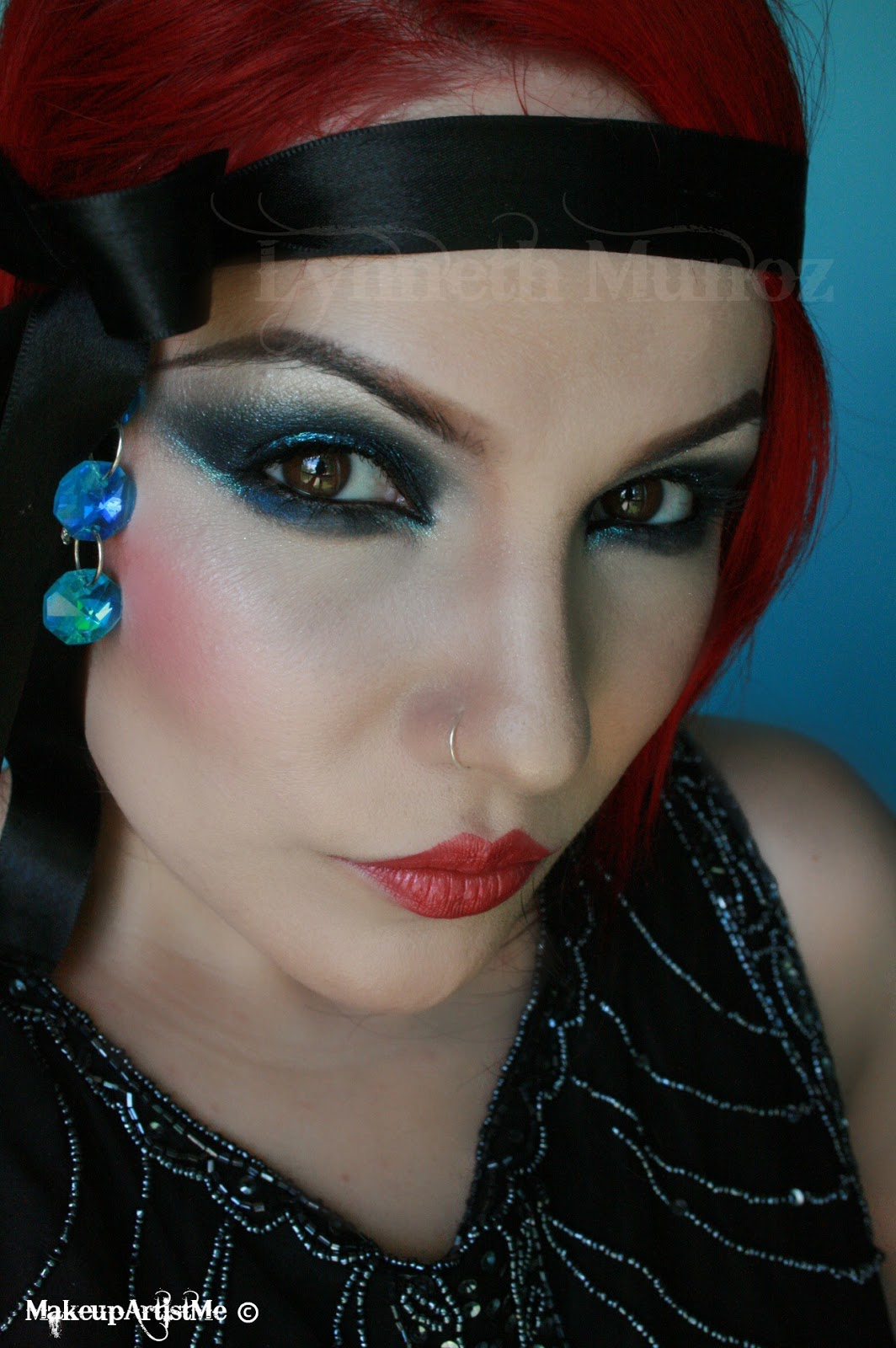 Make Up Tutorials Youtube: Make-up Artist Me!: 1920s Dramatic Makeup Look