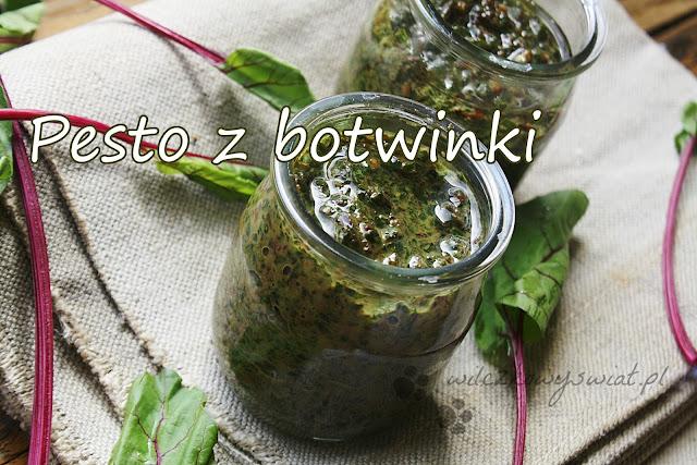 Pesto z botwinki