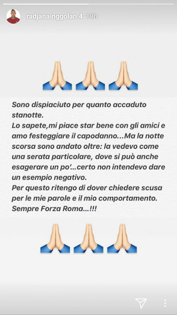 Radja Nainggolan Minta Maaf pada Fans AS Roma