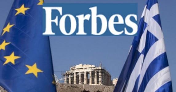 Forbes: Η Ελλάδα θα ανακάμψει σε 20 χρόνια – Πρέπει να βρεθεί άμεση λύση με το χρέος