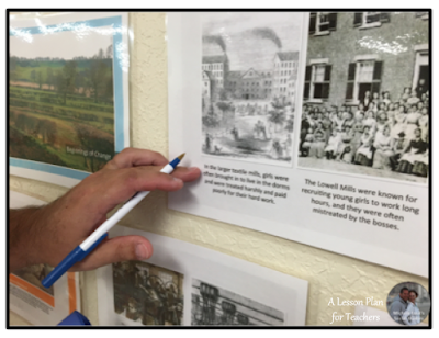 A how-to for creating a Walking Tour or Gallery Walk in the classroom.