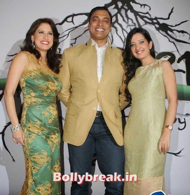 amtriAmrita Raichand, Shoaib Akhtar and Amy Billimoria, Make a Wish Foundation Fundraiser Fashion Show