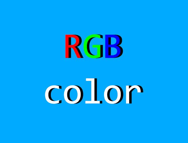 rgb dan rgba color