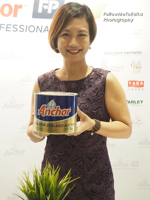 Ms Linda Tan, Director of Anchor Food Professionals Malaysia