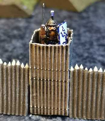 Small watchtowers, resin printed/casted, 15mm scale,  4 EUR each picture 2