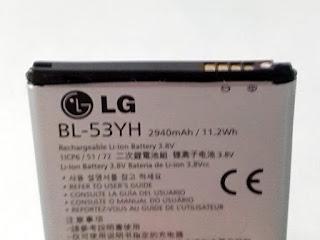 Bateria LG G3 Armadilha Resultado