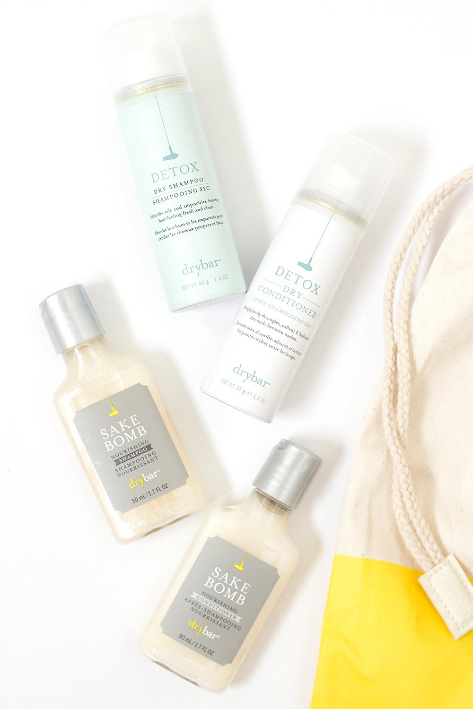 Drybar Travel Sized Hair Products