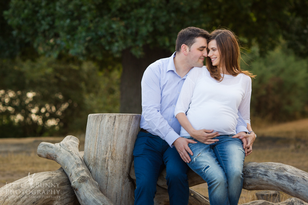 pregnancy portrait photography in East London and North London