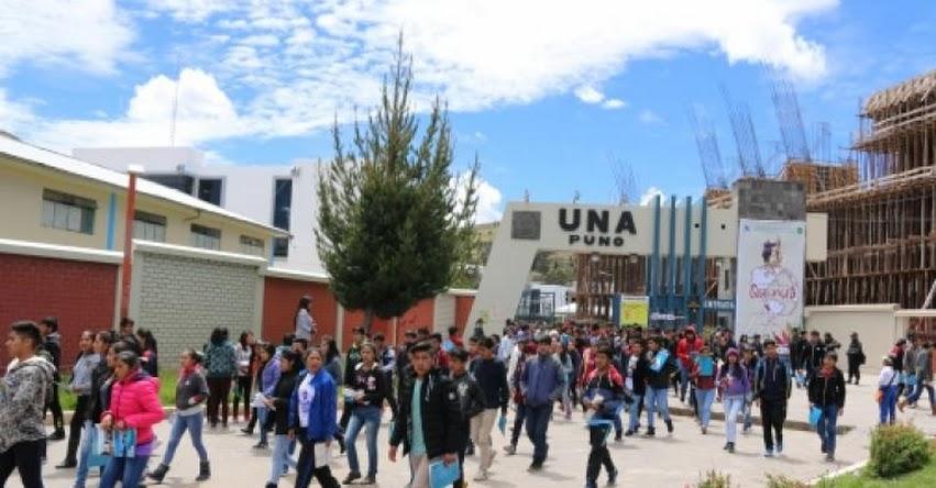 Más de 7 mil 500 postulantes darán examen de admisión el domingo 21 de mayo en la UNA Puno